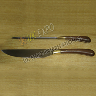 Knife set Wooden handle and Bone Handle Available in stock