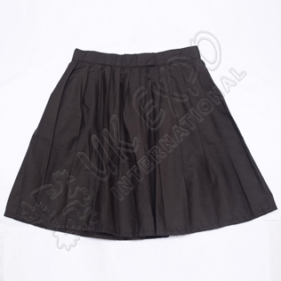 Ladies Black Color Skirt With Zip Closing