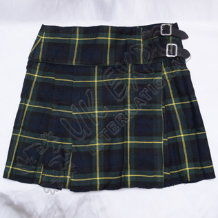 Ladies Gordan Tartan Billie Kilt