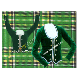 Ladies Highland Dance Jacket (Velvet)