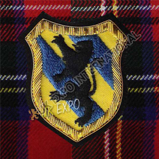 Lampert Lion Blazer Badge