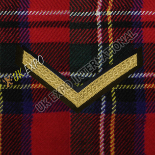 Lance Corporal 1 Stripe Gold Braid