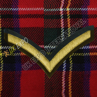Lance Corporal 1 Stripe Gold Bullion