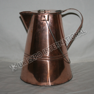Large Coffee Pot made in Copper