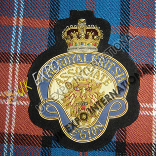 Legion The Royal British Blazer Badge