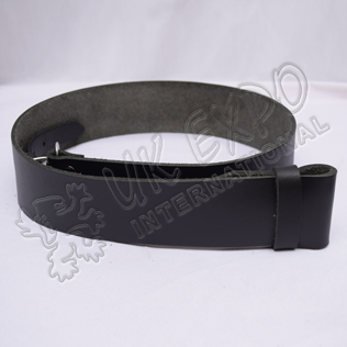 Light Weight Leather Kilt Waist Belt