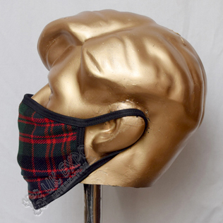 MacDonald Clan Tartan Scottish Style Mask