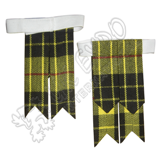 Macleod Dress Tartan Kilt Flashess