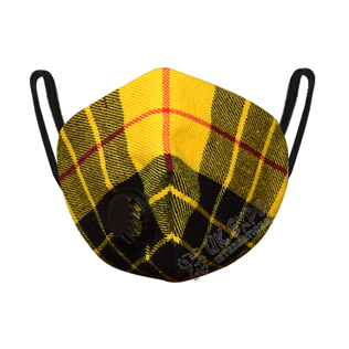 Macleod Dress Tartan Scottish Filter Mask