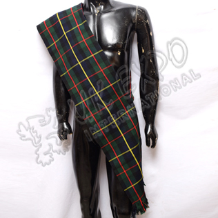 MacLeod Of Harris Tartan Ladies Sash