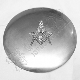 Masonic Badge with Plain Brooch