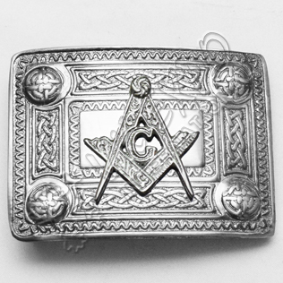 Masonic Knot Work Buckle