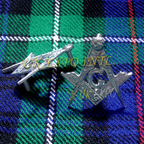 Masonic Metal Badge