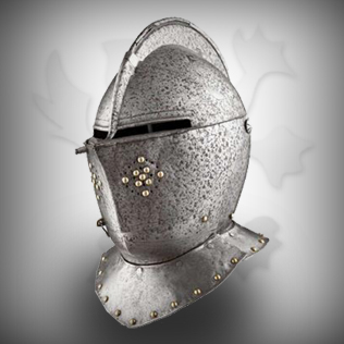 Medieval Head Armor Fully Covered Helmet For Warriors