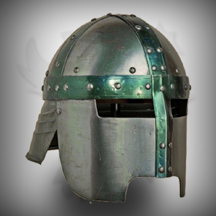 Medieval Head Armor Helmet For Warriors