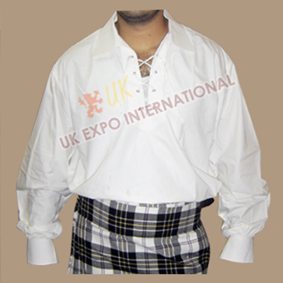 Modern Jacobite Shirt White Color (New)