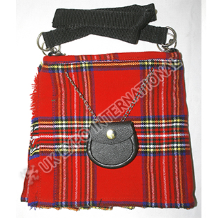 Modern Royal Stewart tartan Ladies Kilt Bag