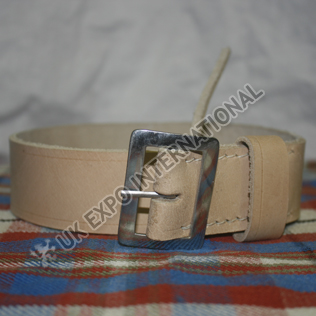 Musket Sling NATURAL LEATHER Color