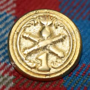 Napoleonic War 1812 Tunic Uniform Button