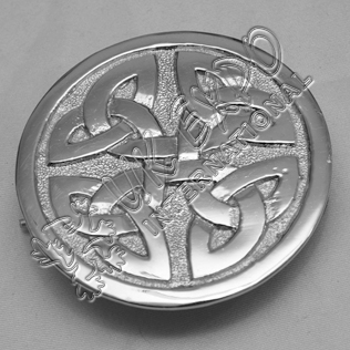 New Celtic Coin Style Brooch
