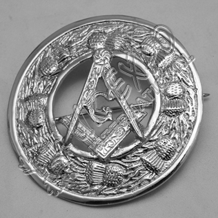 New Masonic Badge Brooch