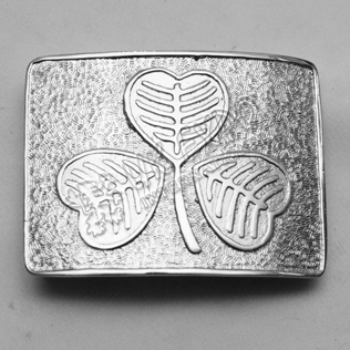 New Quality Shamrock Buckle mega Finish