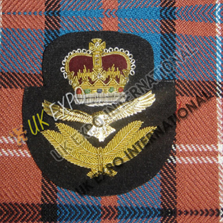 Officer Crown Blazer Badge
