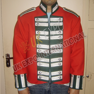 Officer Dress Double Breast Jacket Light Company 1798-1808 68th Regiment foot