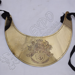 Officer Gorget Brass