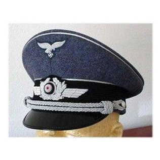 Officer Visor Cap - wool
