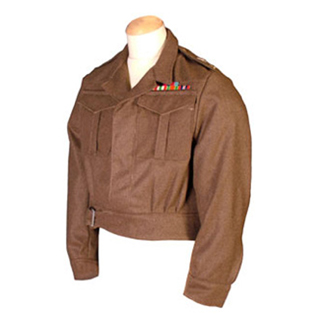 Officers Battledress Jacket Serge