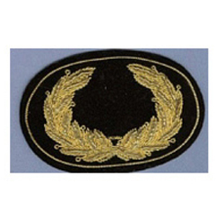 OFFICERS EMBROIDERED HAT INSIGNIA