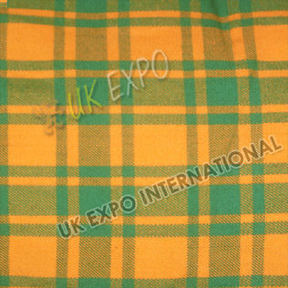 Orange and Green Tartan