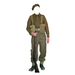Pattern Battledress uniform