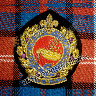Pipe Band Blazer Badge