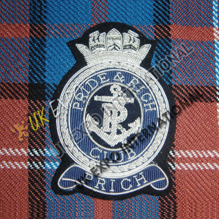 Prich & Rich Blazer Badge