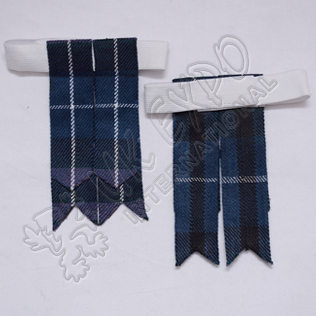 Pride of Scotland Tartan Kilt Flashes