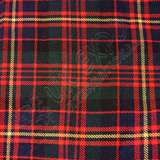 Queens Own Cameron Tartan No 68