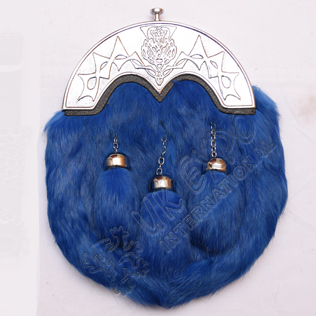 Rabbit Fur With Blue Color