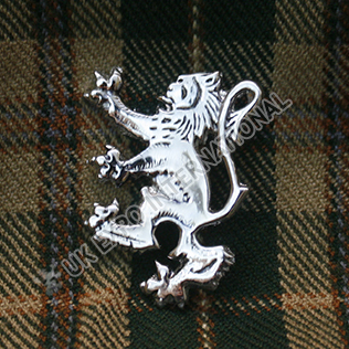 Rampart lion Kilt pin