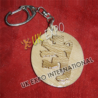 Rampart Lion Wooden Key Chain