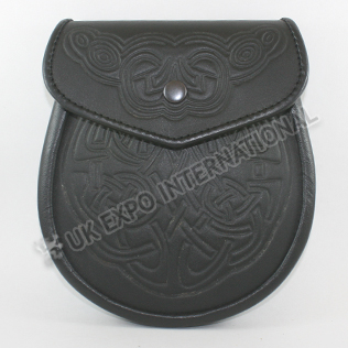 Real Cow Hide Leather with New Embossed