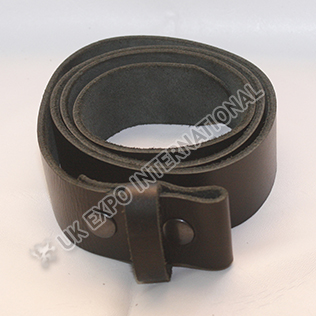 Real leather Belt with snaps 1.5 inches wide