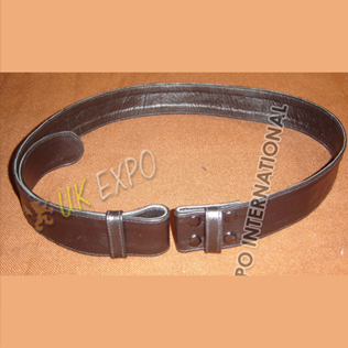 ReaL Leather waist Belt 1.5 inches wide with Button