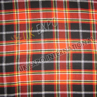 Red - Black Tartan No 1