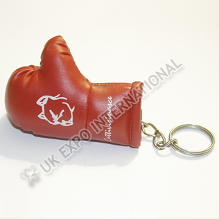 Red Color Boxing Glove Key Chain