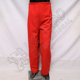 Red Color Civil War Trouser