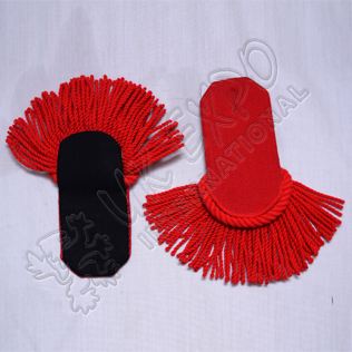 Red Color Shoulders/Epaulette