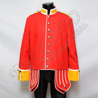 Red Gordan Highland Doublet