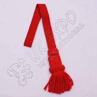 Red sword knot woolen